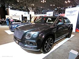 bentley bentayga 2015 bentley bentayga at nyias 2016 mind over motor