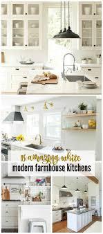 farmhouse kitchens pictures 15 amazing white modern farmhouse kitchens city farmhouse