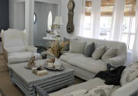 Grey Ottoman Coffee Table Shabby Sweet Cottage A New Coffee Table And A Fall