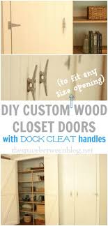 Make Closet Doors What I Learned About My Husband While Diy Wood Closet Doors