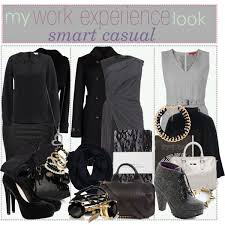 casual for work how to rock on work experience smart casual dress polyvore