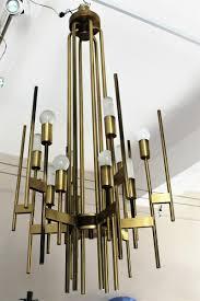 Aged Brass Chandelier Vintage Brass Chandelier By Gaetano Sciolari 1970s For Sale At Pamono