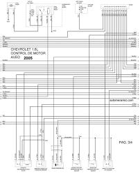 diagrama elect control de motor aveo 1 6 2005 2006 2007 2008 2009