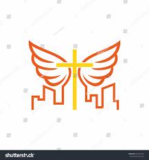 church logo cross jesus christ holy stock vector 422361445