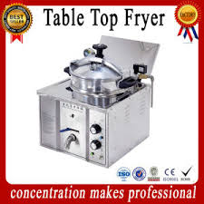 table top fryer commercial china mdxz 16 ce iso commercial chicken table top pressure fryer