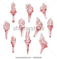clipart torches stock vector 365958242 shutterstock