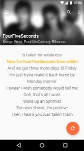 quicklyric instant lyrics android apps on google play