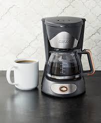 Coffee Pot crux 14634 5 cup coffee maker created for macy s coffee tea
