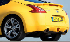 nissan yellow nissan 370z yellow limited edition model with racy graphics