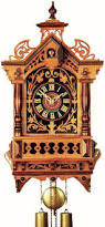 Clock Shop Antique Replica Clock 8 Day Movement 45cm By Rombach U0026 Haas 3401