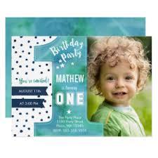1st birthday boy invitations u0026 announcements zazzle