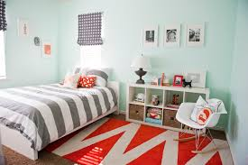 gray u0026 orange bedroom before and after house of jade interiors blog