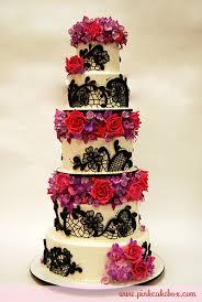 lace u0026 flower wedding cake wedding cakes