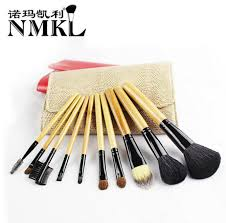 10 makeup brushes fortable easy makeup tools wool hair for beginners portable short game makeup sets