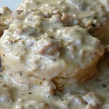 sausage gravy and biscuits las vegas food adventures