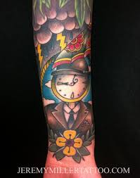 clock tattoo u2013 jeremy t miller
