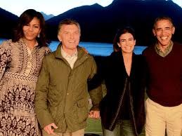 president obama and first lady get private goodbye from argentine