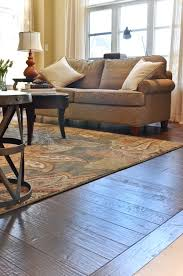scraped black walnut by vintage hardwood flooring
