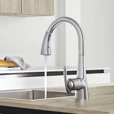 robinetterie grohe cuisine tests et avis sur le mitigeur de cuisine grohe zedra realsteel avec