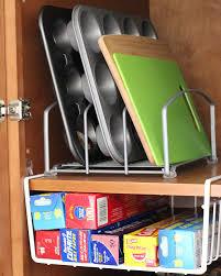 amazon com decobros under shelf basket wrap rack white