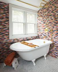 Ideas For Tiling Bathrooms by 28 Creative Tile Ideas For The Bath And Beyond Freshome Com