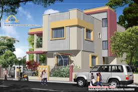 duplex house plan and elevation 2310 sq ft kerala home