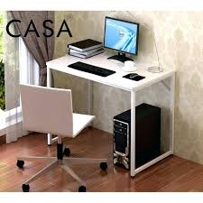 White Modern Computer Desk Simple Computer Tables Simple Computer Desk Laptop Table