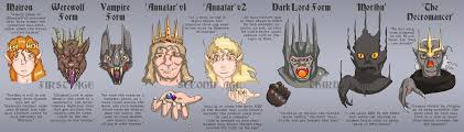 lord of the rings the titular by sregan on deviantart