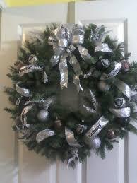 raiders wreath my creations raiders