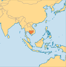Cayman Islands Map In The World by Cambodia Operation World