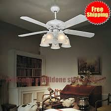 5 Light Ceiling Fan Free Shipping Contemporary Metal Hugger Ceiling Fan Lights With 5
