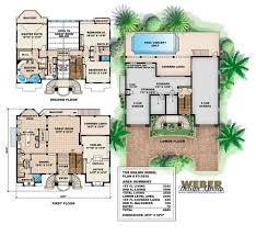 home floor plans mediterranean modern home floor plans color colored house floor plans