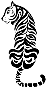 my tribal tiger by mtbrainz xd on deviantart