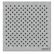 64 Best Moroccan Stencil And by Stencil1 Stars Small Repeat Pattern Stencil S1 01 218 S The Home