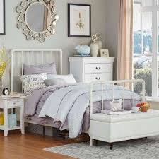Home Depot Bedroom Furniture by Twin Bed Frame White Headboards U0026 Footboards Bedroom
