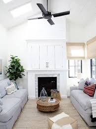 Vaulted Living Room Ceiling Vaulted Ceiling With Skylights Living Room Ideas Photos Houzz