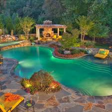 Best Swimming Pools Images On Pinterest Backyard Ideas Pool - Swimming pool backyard designs