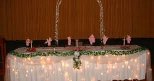 wedding head table decoration ideas from the simple bloguez