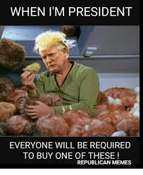 Republican Meme - when i m president everyone will be required to buy one of these