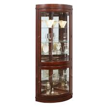 Corner Lighted Curio Cabinet Curio Cabinet Broyhill Cherryo Cabinet Furniture Cabinets