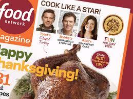 food network magazine november 2013 recipe index recipes and