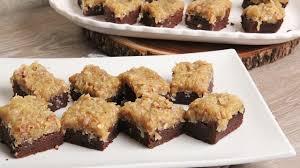 german chocolate cake brownies episode 1140 youtube