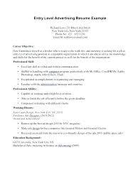 entry level sales resume entry level resume sle resume for entry level sle
