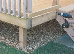 How To Make Handrails For Decks How To Add Steps U0026 Railing To Decking Help U0026 Ideas Diy At B U0026q