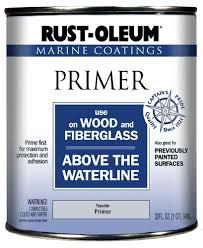 rust oleum marine coatings wood u0026 fiberglass topside primer 1