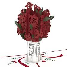 3d bouquet pop up card lovepop