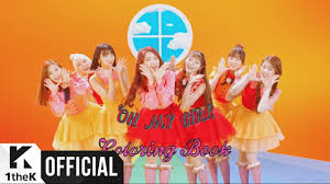 make my own coloring book mv oh my 오마이걸 coloring book 컬러링북 youtube