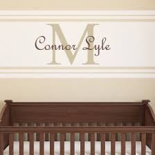 Personalized Wall Decals For Nursery Name Wall Decals Personalized Wall Stickers Rosenberry Rooms