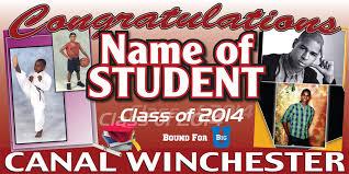 graduation signs redi quik graduation signs columbus ohio banners school