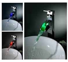 Led Bathroom Faucet Buy Sumerain Led Faucets At Faucetline Com